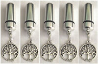 Cremation Jewellery Ashes Urn Set w Tree of Life Keepsake Memorial Necklace