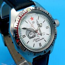 Vostok Amphibia Gagarin RARE 1st Ed. Military Dive Watch New Old Soviet Stock