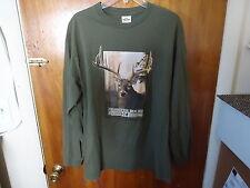Mens Team RealTree Size L Graphic Multi Color Monster Bucks Long Sleeve Shirt