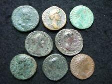 8 x As et Dupondius Marc Aurèle, Commode, Hadrien etc....