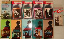 11 USED  ALFRED HITCHCOCK VHS MOVIES