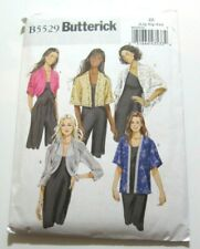 Easy Butterick 5529 Womens Jacket Style Options Sewing Pattern Sizes L XL XXL