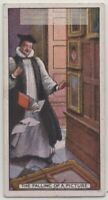 Superstition Picture Falling Off Wall Means Death 1930sTrade Ad Card