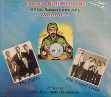 CRYSTAL BALL RECORDS 40TH ANNIVERSARY - Vol.# 2 - CBR #1148