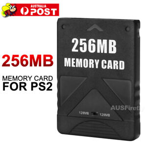 256MB Memory Card Game Data Stick For Sony PlayStation 2 PS2 AU