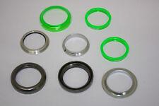 """FSA Steuersatz 1 1/8"""" voll-integriert Grün Headset integrated Poly Spacer green"""