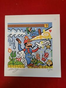 "Levy ""Super Psychedelic Brothers' Signed Art Print limited Edition Art"