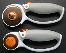 Lot of Fiskars 45mm & 60mm Titanium Softgrip Comfort Loop Rotary Cutters NEW
