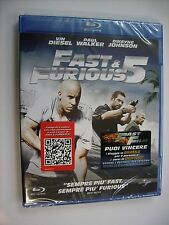 FAST & FURIOUS 5 - BLU RAY SIGILLATO 2010 - VIN DIESEL - PAUL WALKER