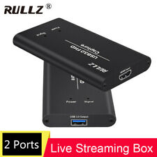 USB 3.0 HDMI Video Capture Card Record Box Phone TV Show Game PS4 Live Streaming