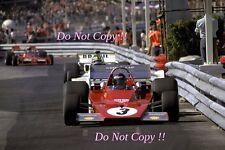 Jacky Ickx Ferrari 312 B3 Monaco Grand Prix 1973 Photograph 4
