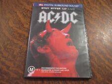 dvd AC/DC stiff upper lip live