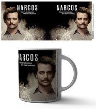 NARCOS PABLO ESCOBAR 11 OZ COFFEE MUG TEA CUP ART DECOR TV SERIES SHOW NETFLIX!!