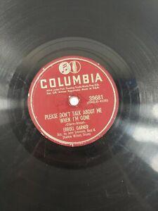 """78 rpm ERROLL GARNER Ain't She Sweet / Please Don't Talk to Me shellac 10"""" VG A2"""