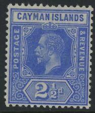 CAYMAN ISLANDS, MINT, #10, OG VLH, 4 MARGINS