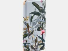TED BAKER IPHONE 6/7/8 PLUS FOLIO CASE COVER PISTACHIO PRINT BOXED GENUINE