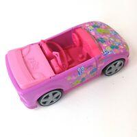 2008 Mattel Polly Pocket Convertible Purple/Pink Jeep Designer Car Kid Toy