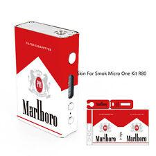 Smok R80 & R80 Plus Mod Sticker Skin Wrap Cover Case vinyl Red Pack
