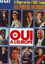 Paris Match N° 1199 - guerre algerie oas - alger - europe -