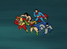 Super Friends Super Powers Animation Cel Master Setup Hanna Barbera 1984-1985
