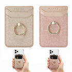Phone Card Holder RFID Credit Wallet with Kickstand Ring for Women Wallet 2 PCS