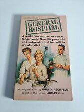 GENERAL HOSPITAL Lancer Books 1963 Burt HIRSCHFELD rare