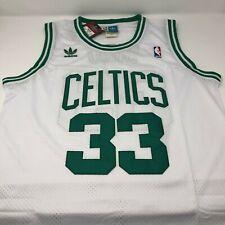 Larry Bird Boston Celtics Replica Throwback Stitched Jersey Mens Size Small