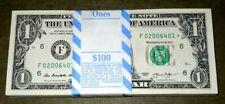 *STAR* NOTE $1 (F) ATLANTA BEP (1) Pack of 100 Consecutive 2013 BILLS