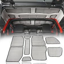 Grey Hardtop Sound Deadener Heat Insulation Kit Fits Wrangler Jeep JL 18-20 4DR