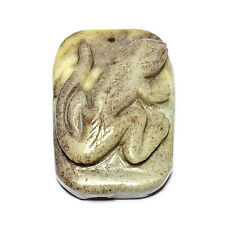 Gecko per DRAGON sangue JASPER Pendant Bead 50mm handmade Gioielli Making ART rocce