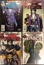 X-FORCE 106 - 109 MARVEL Comic Book SHOCKWAVE SERIES WARREN ELLIS DOMINO X-MEN