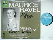 CLUYTENS CONDUCTS RAVEL DAPHNIS & CHLOE PCO EMI COLUMBIA WSX 681 GERMAN