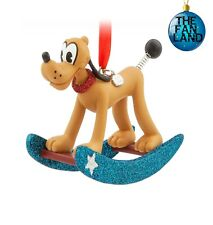 New Disney Pluto Vintage Toy Series Christmas Sketchbook Ornament
