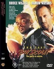 The LAST BOY SCOUT DVD R4 Bruce Willis / Damon Wayans