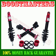 For 2006-2011 Honda Civic Full Coilover Suspension Lowering Kits Non Damper Red