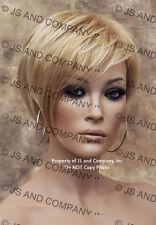 """""""Natalie"""" Jon Renau Short Pixie Chic Wig Golden N Pale Blonde Mix FS613-24 JRNA"""
