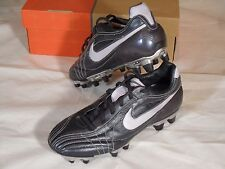 New Womens Nike Air Legend FG Soccer Cleats Boots Metallic Gray Silver 5.5 Rare
