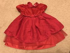 67fcea34d Guaranteed 3 day delivery · Red Holiday Janie And Jack Baby Girl 6-12M Silk/Tulle  Skirt Dress Valentines