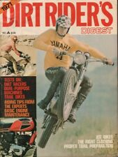 1971 Dirt Rider's Digest - Vintage Motorcycle Magazine