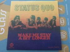Limited Rare Single CD sleeve STATUS QUO Make Me Stay A Bit Longer AUNTIE NELLIE