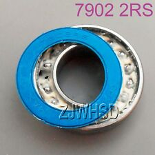 7902 2rs 15 X 28 X 7mm Max Full Complement Angular Contact Ball Bearing for Hub