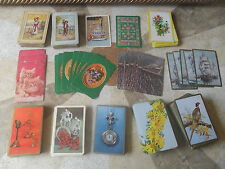 Lot of OVER 300 vintage playing swap  cards collectible