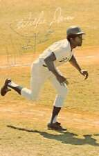 Willie Davis Los Angeles Dodgers Sports Baseball Game Signature Postcard AA19886