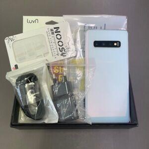 Samsung Galaxy S10 White SM-G973N 512GB Unlocked Single Sim Screen Burn-in