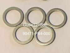5pc HONDA/ACURA 90471-PX4-000 Aluminum Transmission Drain Plug Washer 18mm