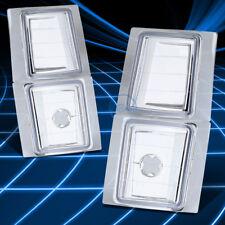 CLEAR REFLECTOR CORNER TURN SIGNAL LIGHT LAMP SET FOR 94-98 GMC C/K C10 GMT400