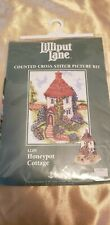 Counted Cross Stitch Kit ( Honeypot Cottage ) Anchor Lilliput Lane LL09 NEW