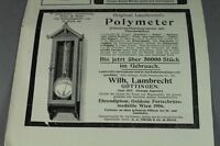 Deutsch Südwest Afrika + Polymeter  - Jugendstil Papier Reklame ~1900     /S128
