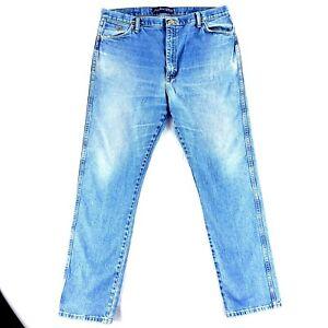 Men's Blue Wrangler Cowboy George Strait Collection Jeans Tag 40x36 (40x36)