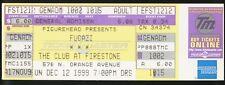 Fugazi UNUSED VINTAGE 1999 CONCERT TICKET DC Punk - Orlando stub/no-cd/lp MINT!